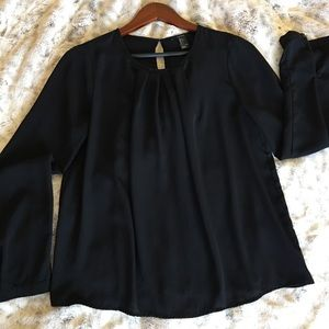 Forever 21 ladies blouse black size large